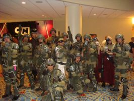 Warhammer at dragoncon by pablofiasco