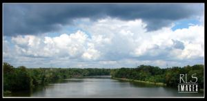 From the bridge by Alabamaphoto