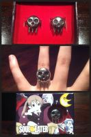 Death the Kid rings by Siren701