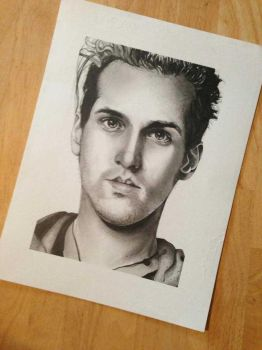 Mikey Way Drawing - (Photo not Scan) by KatyChemical