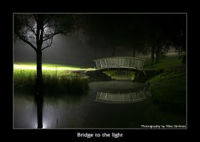 Bridge to the light in color by Lorvija