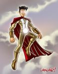 Justice League Capt. Barbell by iANAR