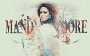 Mandy Moore Wallpaper by only-thi