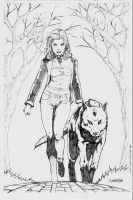 Cry Wolf Cover 4 by Arciah