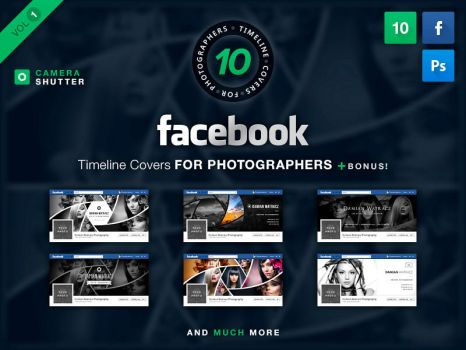 Facebook Covers For Photographers Vol 1 by watracz