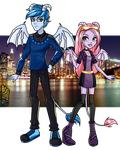 Monster High Boo York: Marshall and Lillian by Tosha22