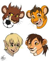 Chibi Headshots for Juffs by Miss-Melis