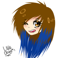 doodle of me by LittleChewrrie