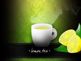 Lemon tea by mj-coffeeholick