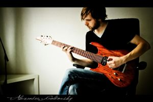 With a Seven String - XIV by 10thapril