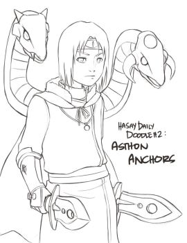 Ashton Anchors -lineart- by Resa11