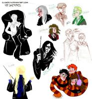 HP sketches by Eis-Blasich