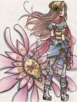 the warrior by manga-drawing-luver