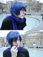 KAITO Cosplay: Ah What a beautiful Winter~ by TheKeiMan