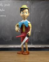 Pinocchio Modifies Himself.... by ergin3d