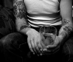 Tatoos and Beer by TheGoodKindaSquishy