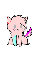 Pink truffle (adopted from Snowdrop the kitty by starlightzs