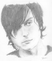 Frank Iero - Pencil by The-Zenith-Factory