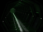 Sci fi hall experiment by Ludez