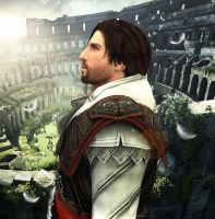 Ezio Auditore by LoveStruck2