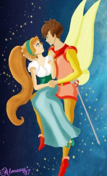 Thumbelina - Let me be your wings by almasy87