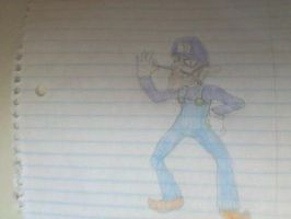 Waluigi by Moonshineemo