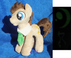 Dr. Whooves/Time Turner V1 Bendy Glow-in-the-Dark by kiashone