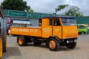 1937 Sentinel S4 Steam Waggon by Daniel-Wales-Images