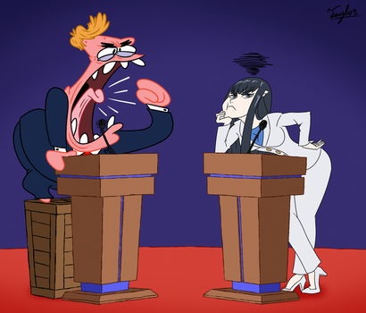 Commission: A Meathead Debate by Coonfoot