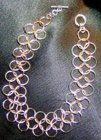 European 4 in 1 Chainmaille Bracelet by DKayCrafts
