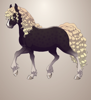 sold horse adopt by BlackWhite101