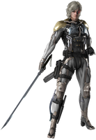 Metal Gear Rising Revengeance - Raiden render by American-Paladin