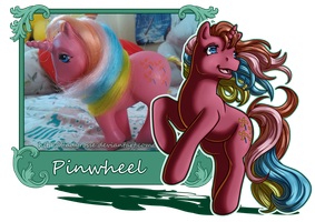 MLP Collection: #2 Pinwheel by LadyRosse