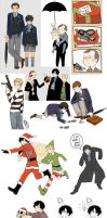 Sherlock Artdump 001 by MachoMachi