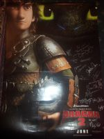 How to Train Your Dragon 2 signed poster by Super3dcow