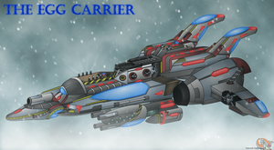 In the Arctic Wind-Egg Carrier by Hazard-the-Porgoyle