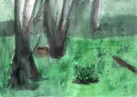 Scenery Painting 1: Swamp Thing by The-Nightmare-Doctor
