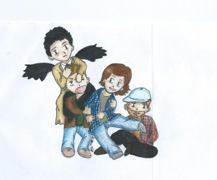 Team Free Will 2.0 by NinkeRaven