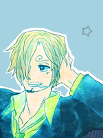 Sanji - W0nder by acid-lu