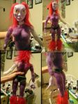 Water Monster Lady doll progress by BaneNascent
