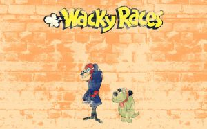 Wacky Racers by MikePetrucci