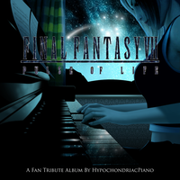 FF7- Pulse of Life Album Cover by white-materia