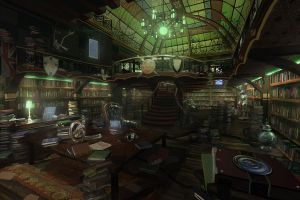 Carl Coreanders Antique Bookshop by rich4rt