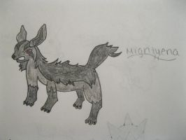 Mightyena by animeVampire-cat