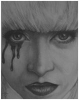 One Day You Will Cry (Graphite) by LonnyClouser