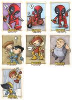 Wolverine Origins card art 3 by katiecandraw