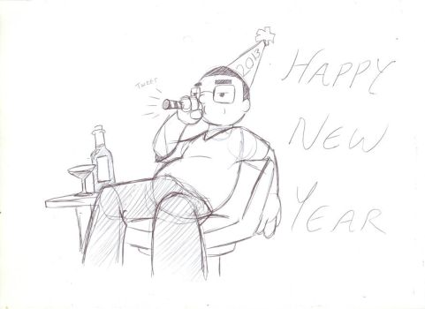 Happy New Year by Montori