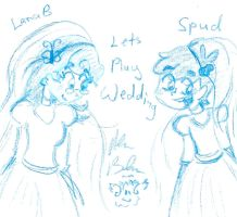 Lana B with other OCs-1 by Kittychan2005