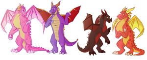 Spyro - All grown up by Shaiger