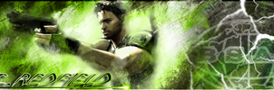 Chris Redfield - Signature by James-T-Havoc